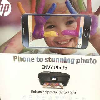 HP envy photo 7820 All in one printer