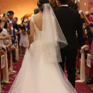 Wedding gown (tailor made) like new