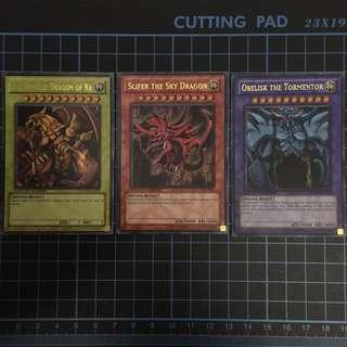 Yugioh God Cards