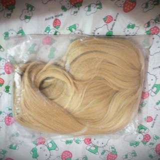 REPRICED FROM 800 - Lucaille blonde wig