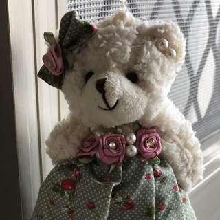 🚚 小熊熊復古掛風鈴