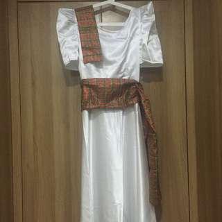 3-pc Filipiniana Costume