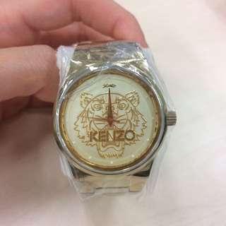 (超平)Kenzo watch - gold 鋼帶錶金色