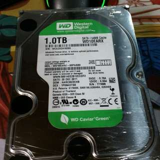 Hard drive - 1terabyte desktop sata