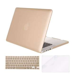 "MacBook Pro 13"" Gold Case + Keyboard Cover"