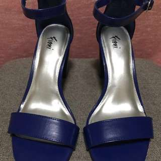 Fioni Ankle Strap Heels From Payless