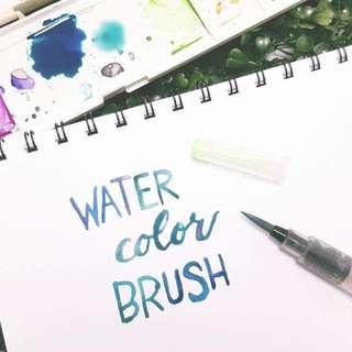 Water Brush Calligraphy, Waterbrush