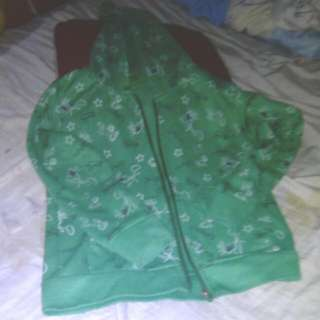 Hoody Green Jacket