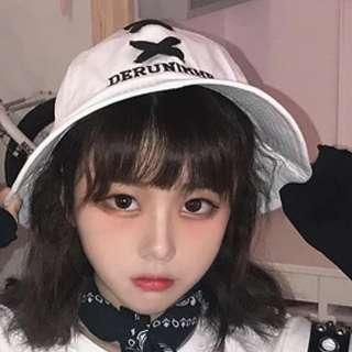 日系♡交叉綁帶♡超可愛幼稚園帽
