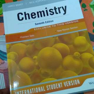 Chemistry Seventh Edition (WILEY)