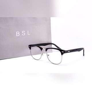 Half Framed Vintage Geek Specs
