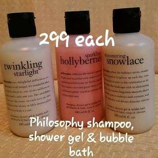 Philosophy shower gel