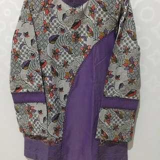 Batik Ungu-Bahan Batik Keris
