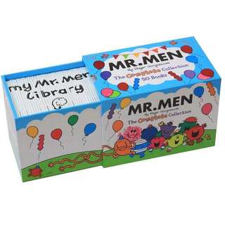 Mr Men Complete Collection -50 Book Box Gift Set By Roger Hargreaves