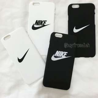 BLACK SWOOSH CASE FOR IPHONE 6/6s