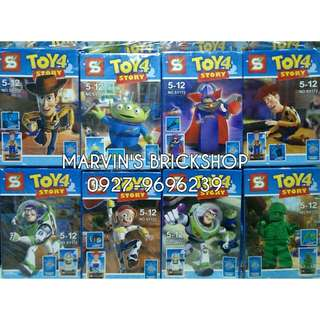 For Sale Toy Story 8in1 Minifigures SY172