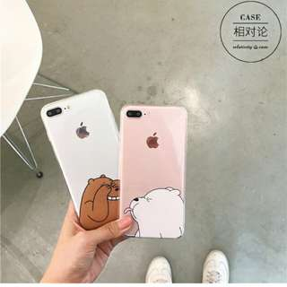 ulzzang korean style «we bare bears» casing phone case