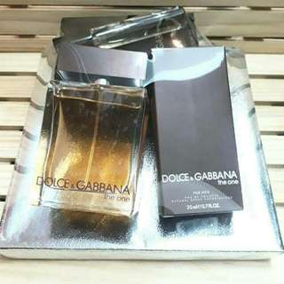 NEW | The One by Dolce & Gabbana Men's Perfume Set