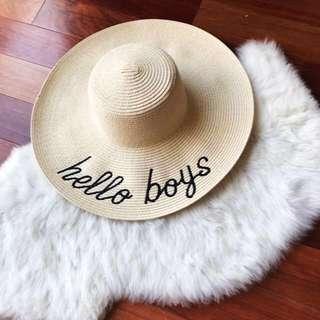 Beach summer floppy hat