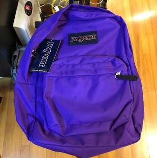 Jansport 運動背囊(紫色)
