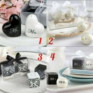 Wedding Favor shaker sets