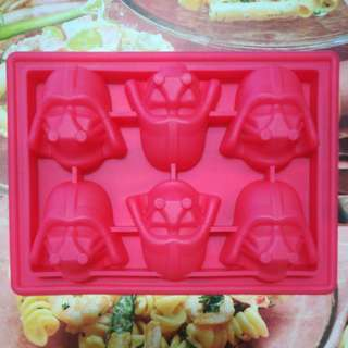 Star Wars Darth Vader Chocolate Soap Silicone Mold