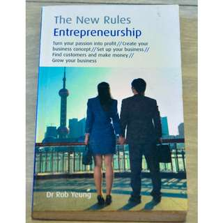 Entrepreneurship: The New Rules by Dr Rob Yeung