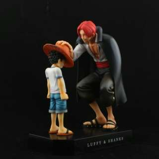 One Piece Memory Of Childhood Monkey-D-Luffy and Shanks 16cm
