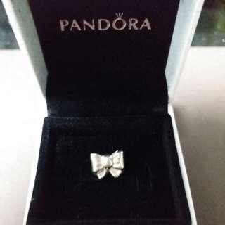 Pandora bow charm