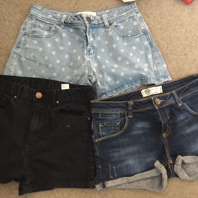 3 Preloved short in good condition - size 36