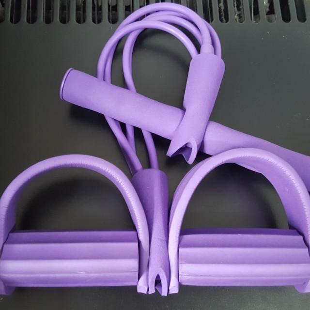 多能腳踏4管仰臥起坐健身器材運動減肥減肚子瘦腰拉力器健身運動器材