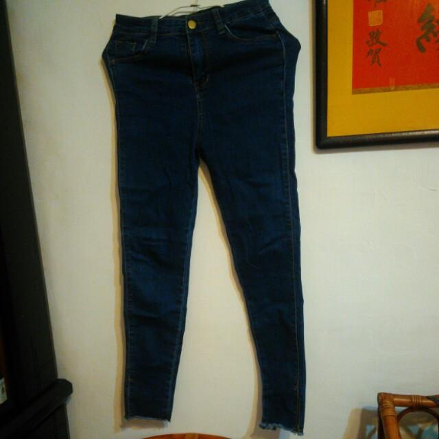 抽鬚牛仔褲#有超取最好買#好想找到對的人