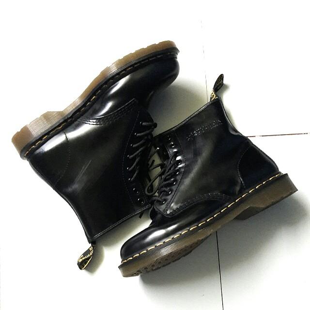 (FREE ONGKIR) Crispyduck (CPDK) 8 holes Boots