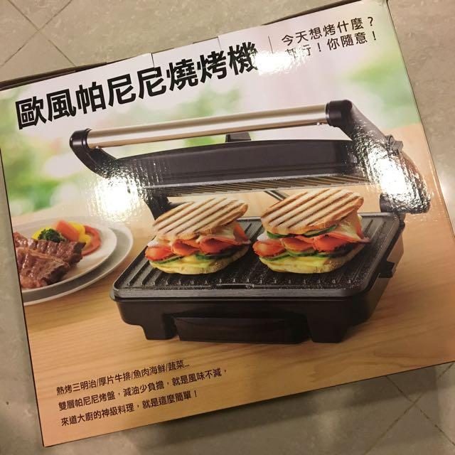 歐風帕尼尼燒烤機 全新