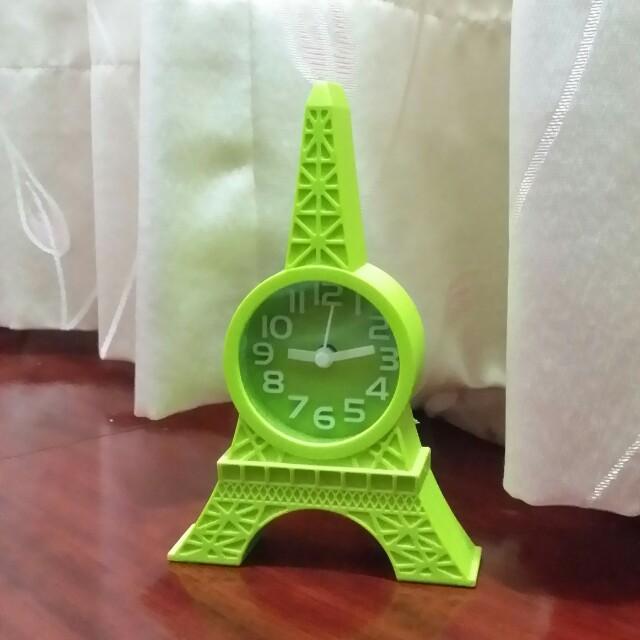 🔸巴黎鐵塔小鬧鐘 質感超好❤ #好物任你換 #手滑買太多