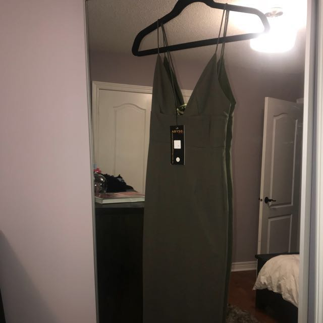 Abbys by Abby XS Olive Dress