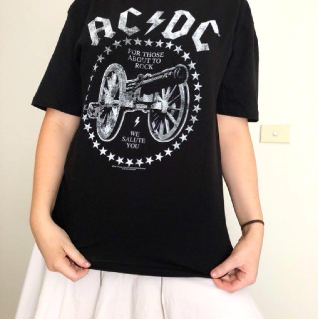 ACDC Band tee