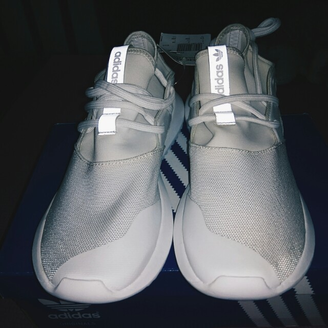 size 40 67c0e 1abaf Adidas TUBULAR ENTRAP W (white for women) on Carousell