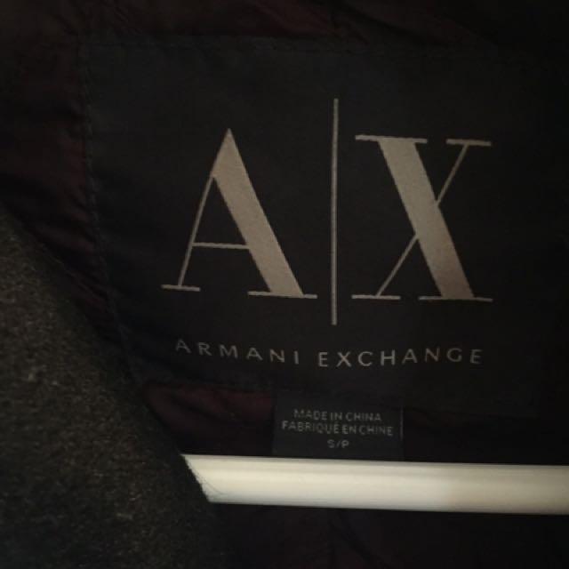 Armani exchange peacoat