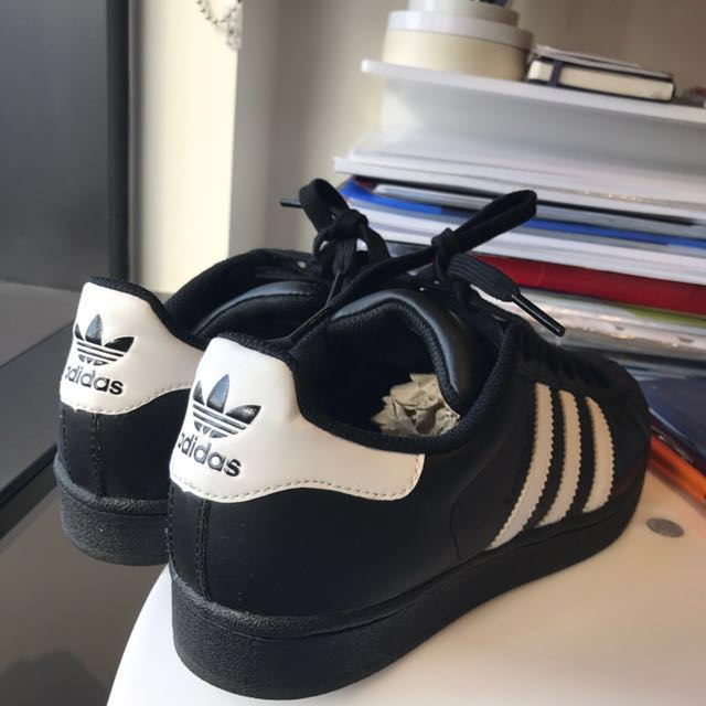 Authentic Adidas Superstar (Black)