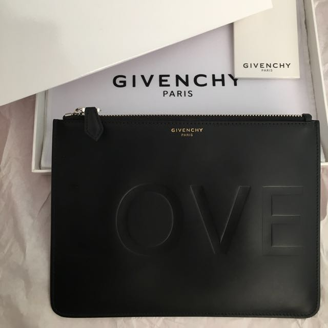 "AUTHENTIC GIVENCHY ""LOVE"" Pouch"