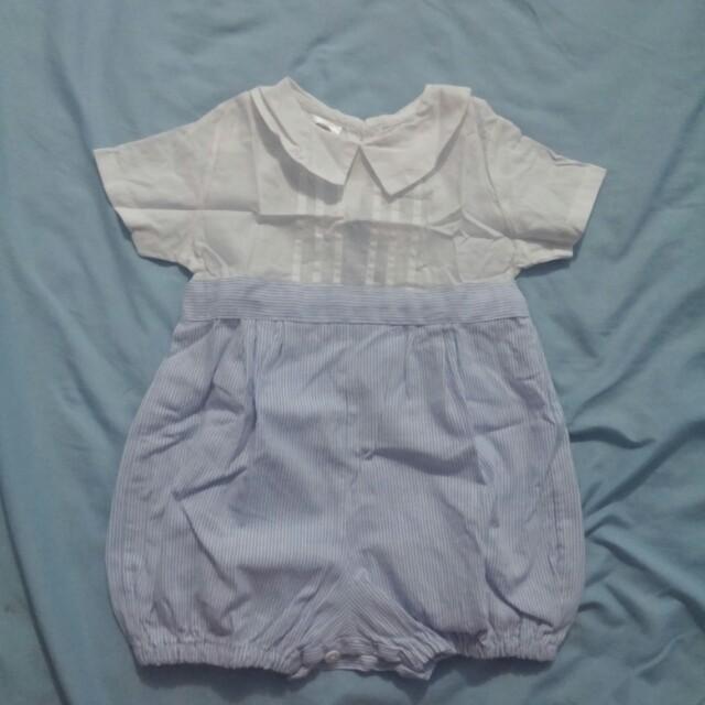 Baby Boy Baptism Suit