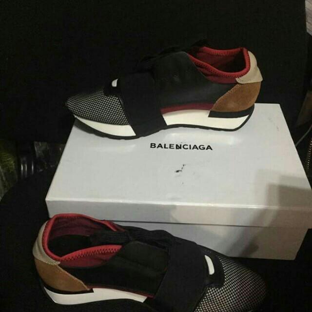 Balenciaga mixed meadia trainer shoes!!