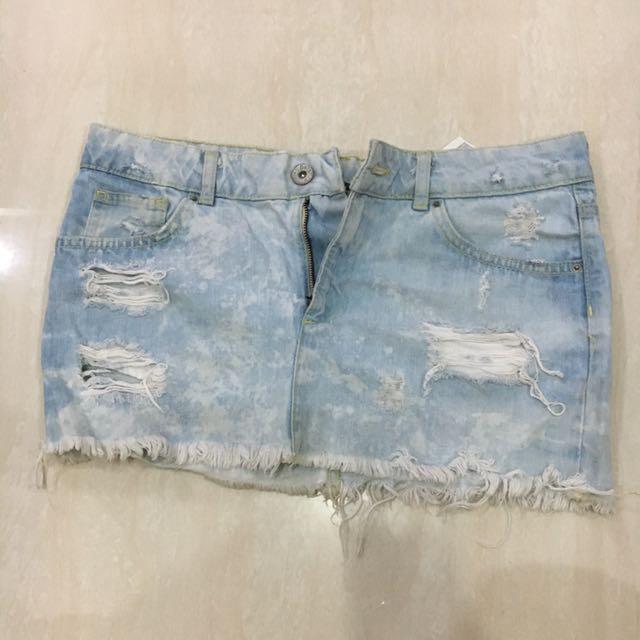 Bershka Jeans Skirt
