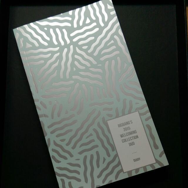 全新含運Bigbang手帳 筆記本