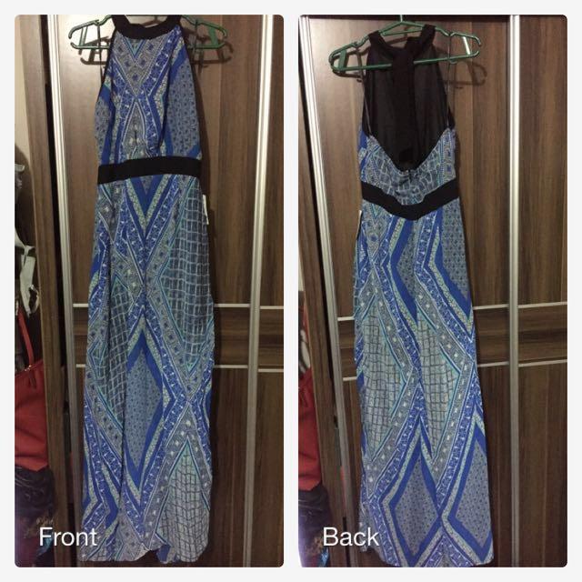 (BNWT) F21 Halter Long Dress