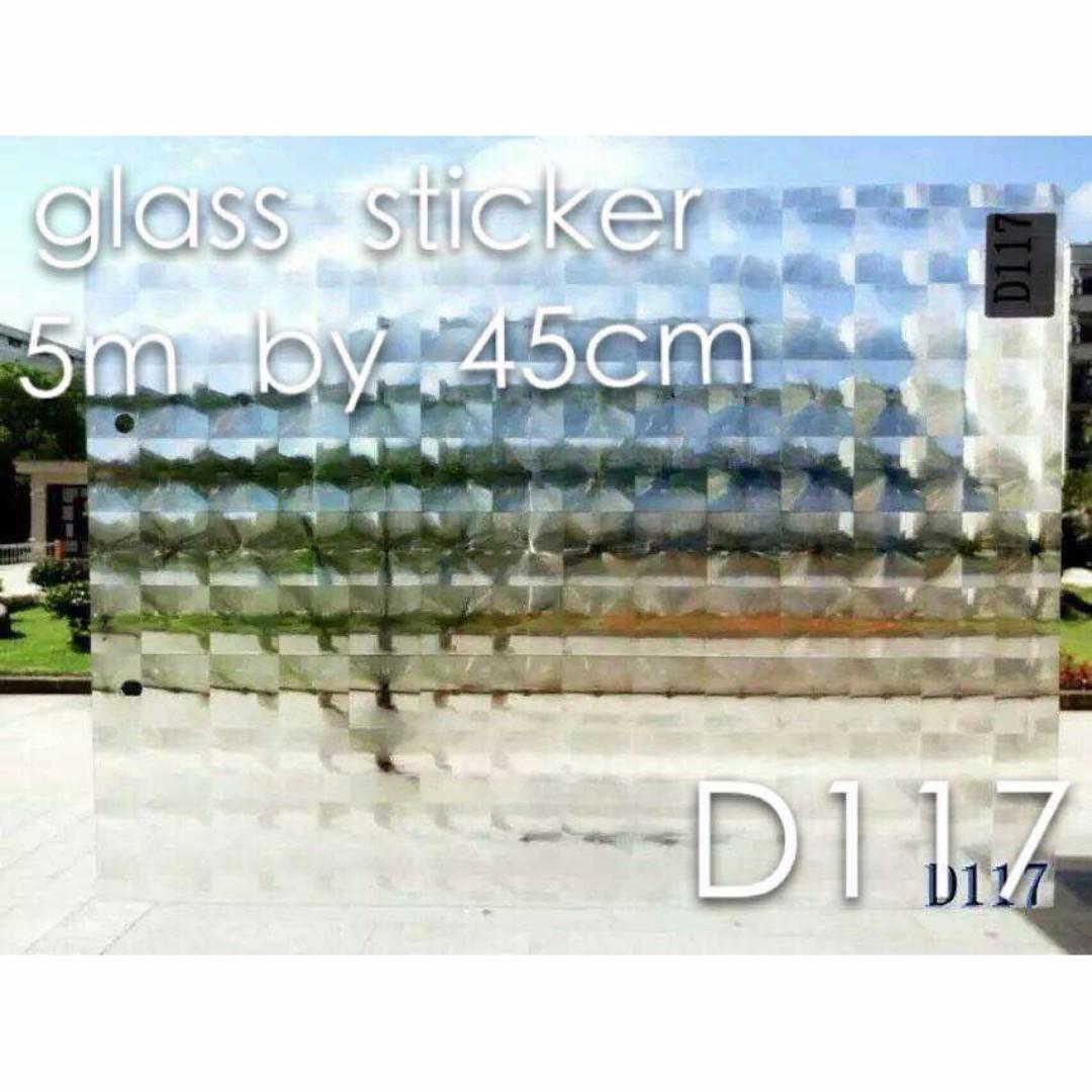 Box Glass Sticker Water Spray Type 5m x 45cm
