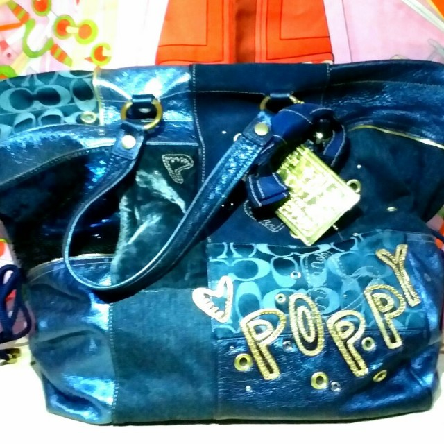 Coach Poppy Shoulder Bag Limited Edition