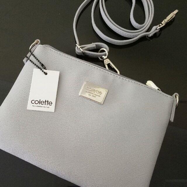 Colette Sling Bag Grey