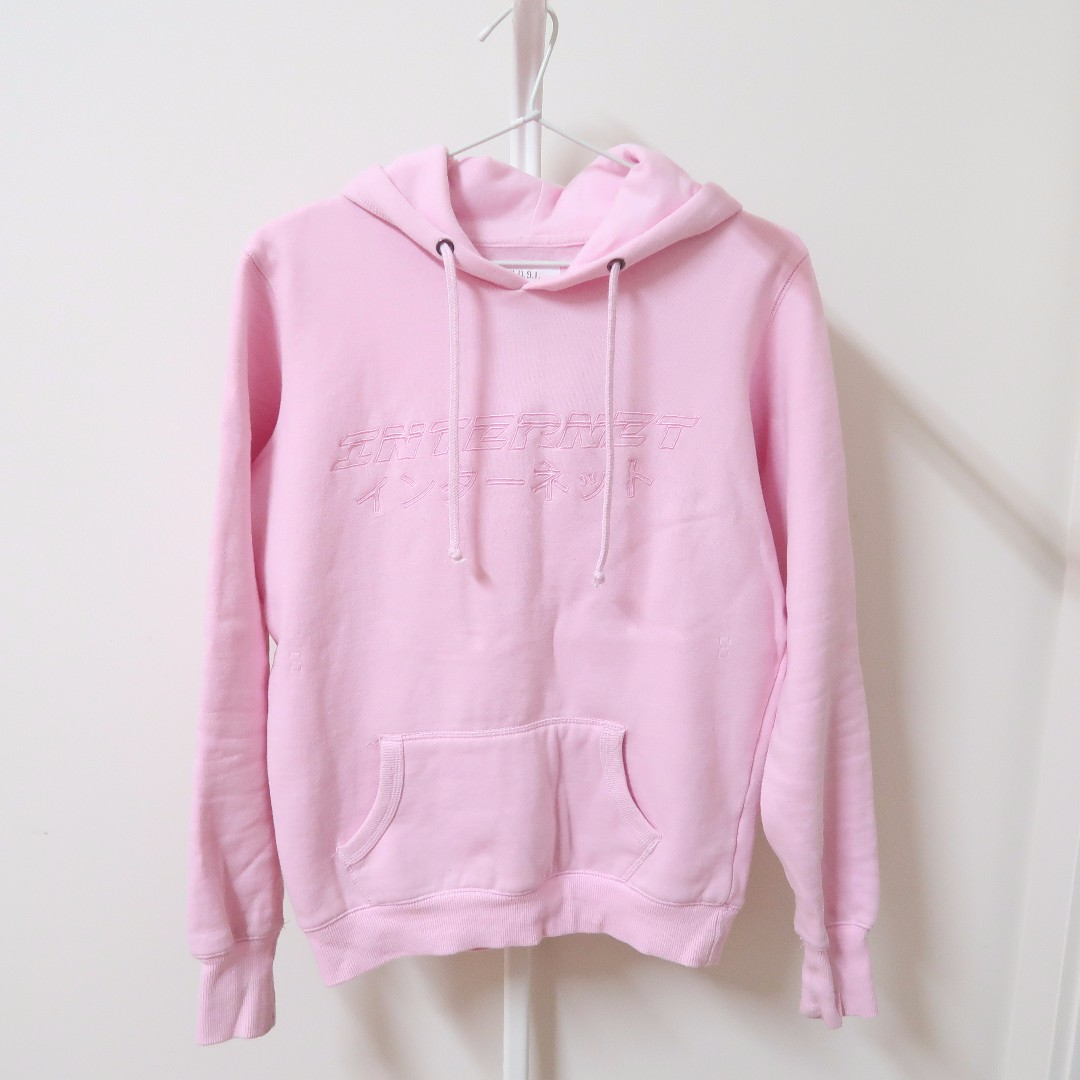 COTTON ON Pink Fleece Graphic Hoodie